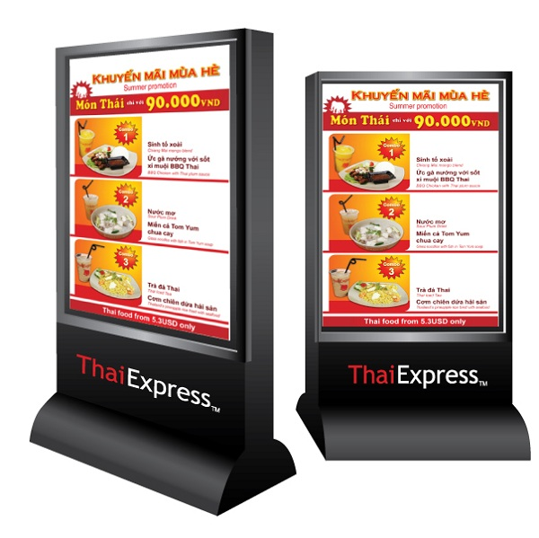 lam bien hieu Thai Express