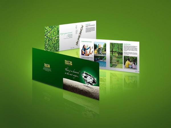 thiết kế brochure east saigon